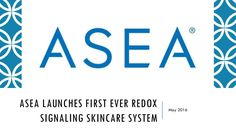 ASEA launches first ever Redox Signaling skincare system.