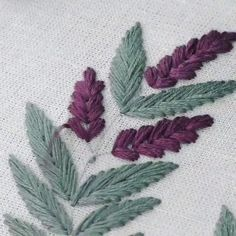 Hand Embroidery Patterns Flowers, Hand Embroidery Videos, Embroidery Stitches Tutorial, Embroidery Flowers Pattern, Hand Embroidery Designs, Embroidery Supplies, Etsy Embroidery, Creative Embroidery, Simple Embroidery