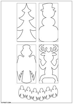 Paper Snowflake Patterns, Snowflake Template, Christmas Paper Chains, Christmas Art, Book Crafts, Christmas Crafts, Paper Crafts, Paper Doll Chain, Fun Christmas Games