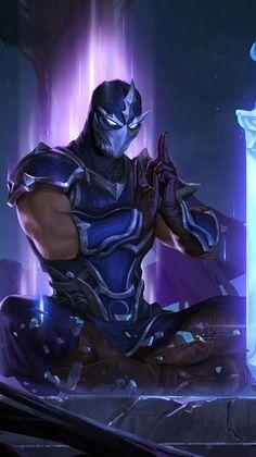 Lol League Of Legends, League Of Legends Characters, Legend Of Legends, Video Game Characters, Fantasy Characters, League Of Legends Personajes, Character Art, Character Design, Ninja Art