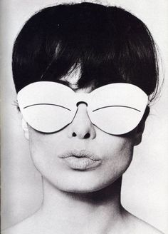 Andre Courreges: Forefront of #Space Age Fashion in the 60's. Came from Aleut Eyewear