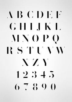 MODIFICATION BODONI by simon spring, via Behance