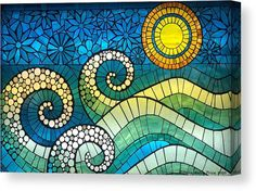 Mosaic Tile Art, Mosaic Artwork, Mosaic Glass, Mosaic Garden Art, Stained Glass, Mosaic Art Projects, Mosaic Crafts, Mosaic Ideas, Mosaic Designs