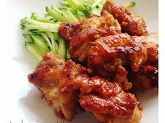 簡単!鶏もも肉のピリ辛めんつゆマヨ焼きの画像