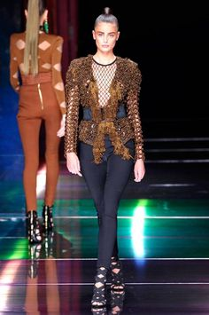 Balmain Spring/Summer 2016   Fashion, Trends, Beauty Tips & Celebrity Style Magazine   ELLE UK