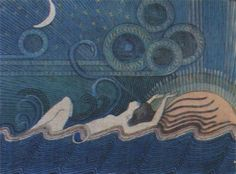 Ilmatar. Joseph Alanen. The Kalevala.