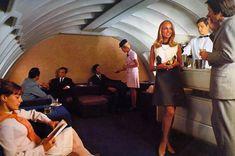 Boeing 747 upper deck bars lounges restaurants photos - Australian Business Traveller