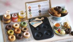 Nunu's House: Miniature collectables « Juicy Sushi en We Heart It.