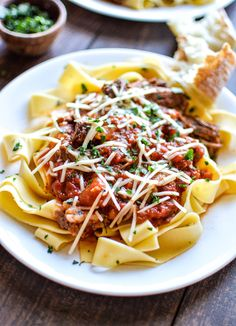 Slow Cooker Beef Ragu: http://www.stylemepretty.com/collection/2952/