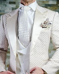 Sebastian Cruz Couture Want to get OFF? Simply add 5 items to your cart. White Wedding Suit, Wedding Suits, Wedding Dresses, Groomsmen Attire Black, Double Breasted Waistcoat, Dress Suits For Men, Vintage Groom, Designer Suits For Men, Tuxedo For Men