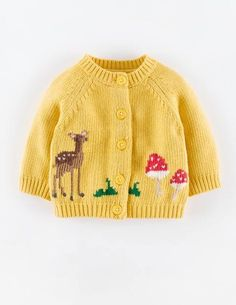 My Favourite Intarsia Cardigan 71432 Cardigans at Boden
