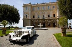 Villa Grazioli near Rome for wedding receptions
