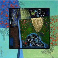 Patchwork-PoppyFields-France - Jenny Gore - Enamel