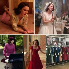 Gretchen Hirsch. Are you all watching The Marvelous Mrs. Maisel on Amazon? If not, you  absolutely should be! The costumes are truly spectacular. There's a great article on the @entertainmentweekly website about the costume designer, Donna Zakowska (these images are borrowed from the article). It's a great read, with lots of insights into the period and the use of color. (Also, if you like that red dress, I have something in the pipeline you're going to love. Hint hint.)