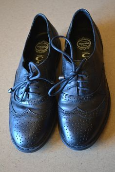 *REDUCED* Jeffrey Campbell Black Oxfords - $45