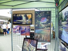 art City Art, Display, River, Painting, Floor Space, Billboard, Painting Art, Rivers, Paintings
