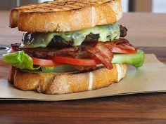 cheeseburger BLT on sourdough / the burger dude