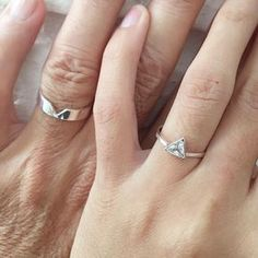 Matching promise rings, his and her promise rings, promise rings . Matching promise rings, his and her promise rings, promise rings … Sourc