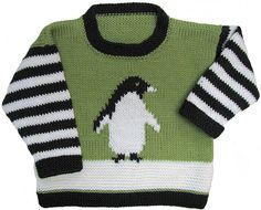 Ravelry: Penguin Pullover pattern by Gail Pfeifle. 6 months to 6 years