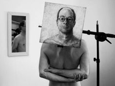 Gregory Scott's self-portraits