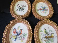 Bird Plaques Ceramic, Porcelain, Pottery Wall hanging, Home Decor, Handmade by PorcelainChinaArt on Etsy