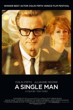 A fantastic yet sad film where a man loses his partner. Colin Firth was simply superb.