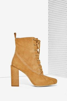 Jeffrey Campbell Hiver Lace-Up Boot - Shoes