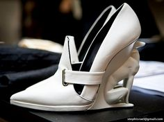 David Koma & Piers Atkinson - David Koma's shoes represent a collaboration with Alain Quilici, who created these greyhound heels