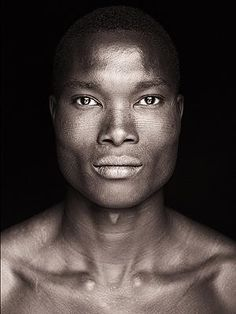 Onyeka (awn-YEH-kah, african name meaning God is the greatest) Very visible bone structure here.