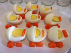 Made these egg buggies for a baby shower