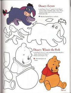 eeyore + winnie the pooh