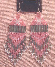 Pierced Earrings Southwest Native American Bead Jewelry by mrnglry, $10.00
