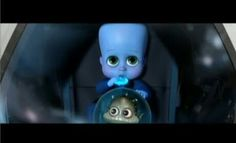 ... Baby Megamind and Minion ...
