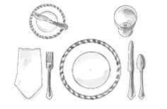 DO you know the proper way to set a table? Find out a great way to remember where everything goes!