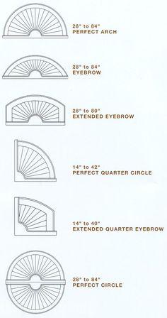 Hunter Douglas Bridgeway Specialty Shapes Eyebrow Arch Learn More At Windovango