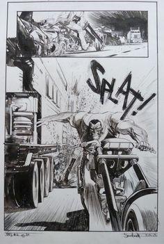Punk Rock Jesus #6 Pg 32 par Sean Gordon Murphy - Planche originale