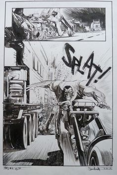 Punk Rock Jesus #6 Pg 32 par Sean Gordon Murphy - Planche originale