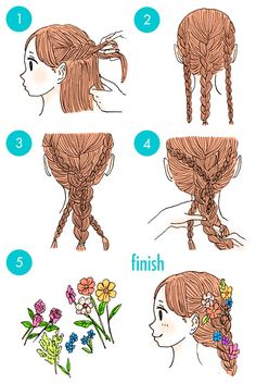 This is how those little girls braided her hair! # feed in cornrows Braids Rapunzel's hair. This is how those little girls braided her hair! Cute Simple Hairstyles, Little Girl Hairstyles, Trendy Hairstyles, Ladies Hairstyles, Summer Hairstyles, Straight Hairstyles, Little Girl Braids, Girls Braids, Fringe Hairstyles