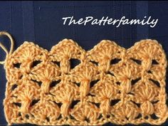 Crochet Stitch Pattern #6 │by ThePatterfamily
