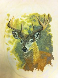 This deer took me 3 years to make working on it off and on throughout the years.