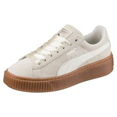 official photos 65f96 10f4b Baskets Puma Suede Platform Bubble Gris Femme - Taille   37 38 39