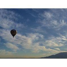 Q City Balloon over Albuquerque NM