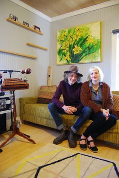 Ciara & JT's Artsy Athens Home — House Tour | Apartment Therapy