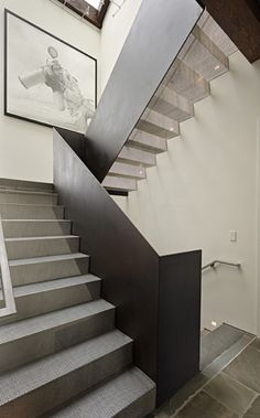 \\ Banister and mesh stairs