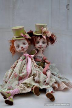 Карденчики - куклы поднимающие настроение. Авторские куклы Карины Буркатской и Дениса Шматова (Kardenchiki Art Dolls) / Авторская кукла известных дизайнеров / Бэйбики. Куклы фото. Одежда для кукол