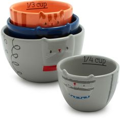 Fat Cat Measuring Cups...@Amy Hopp you need to get this for your sister!!!