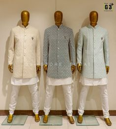 Indian Wedding Suits Men, Indian Wedding Clothes For Men, Sherwani For Men Wedding, Mens Indian Wear, Indian Groom Wear, Wedding Dress Men, India Fashion Men, Indian Men Fashion, Mens Fashion Suits