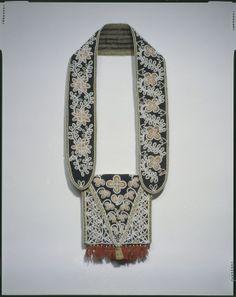 Cherokee Bandolier Bag, ca 1810-20 Southeastern Indian Beadwork