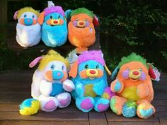Popples! How fucking cool! I had all of these as a child!