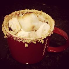 S'mores hot chocolate!! #diydecember